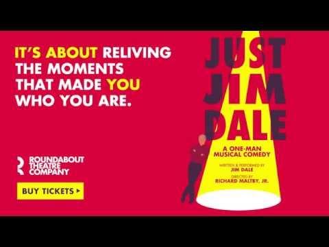Just Jim Dale | Roundabout Theatre Company