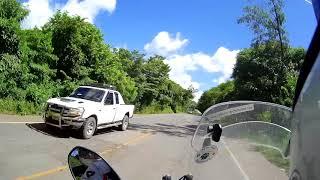 Honduras to Nicaragua by motorcycle