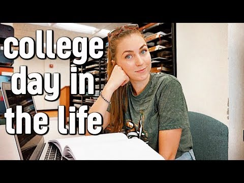 College Day In My Life At Unc Charlotte | Fall 2018