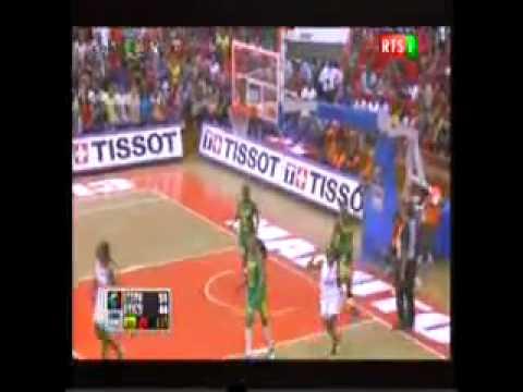 Afrobasket 3er Quart Temps La Mozambique Passe devant les Lionnes 53 48