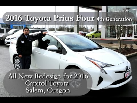 Capitol Toyota | 2016 Toyota Prius Package Four Walkaround and Test Drive | Salem Oregon