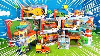 Feuerwehrmann Sam Spielzeug Unboxing: Feuerwehrautos & Löschfahrzeuge zum spielen für Kinder