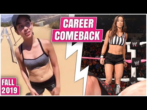 The Career Comeback Of AJ Lee Is Finally REVEALED In Stunning New Announcement For This Fall - WWE
