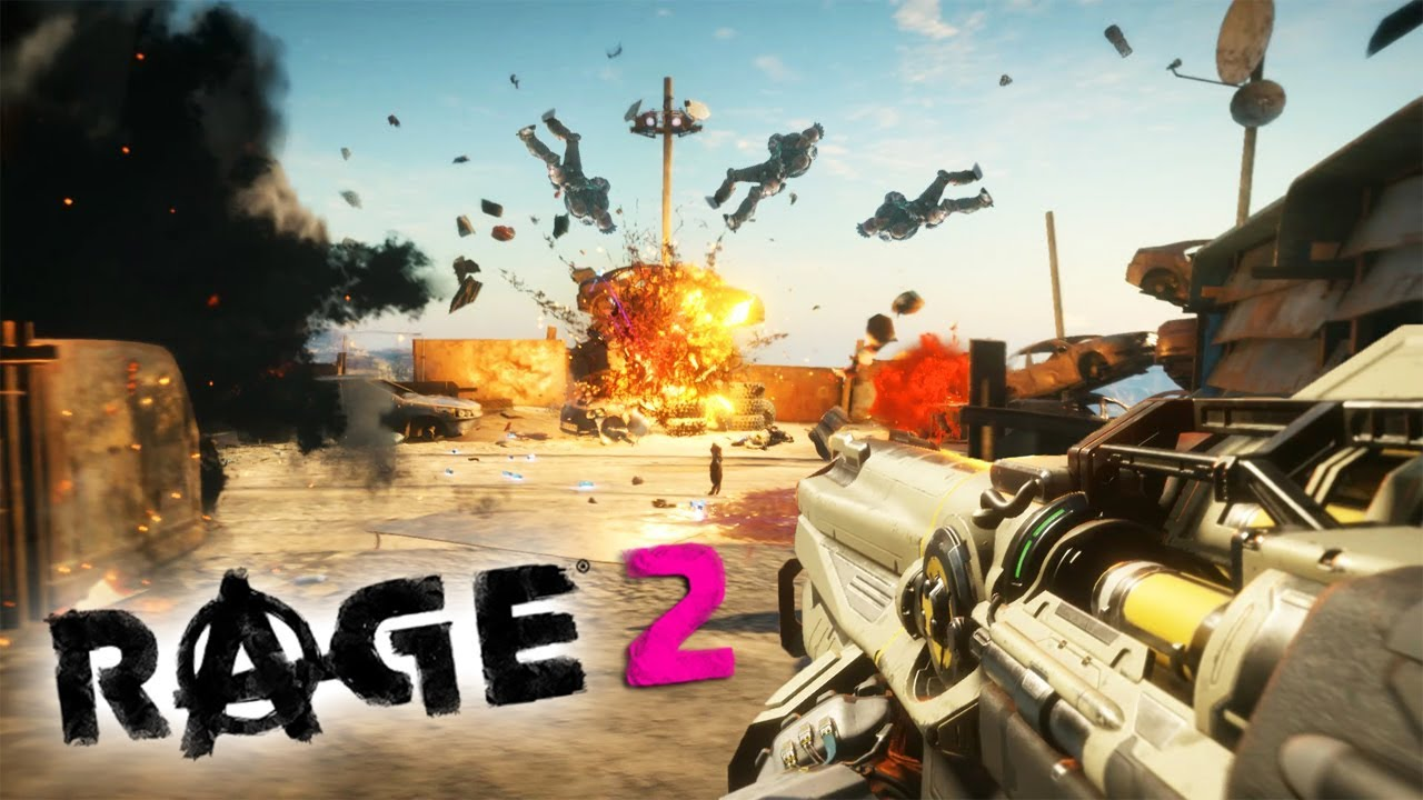 Rage 2 : Creative Combat Kills & Outposts Liberations thumbnail