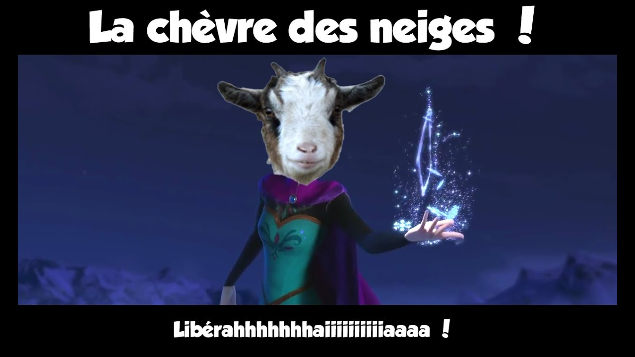La Chevre Des Neiges Youtube