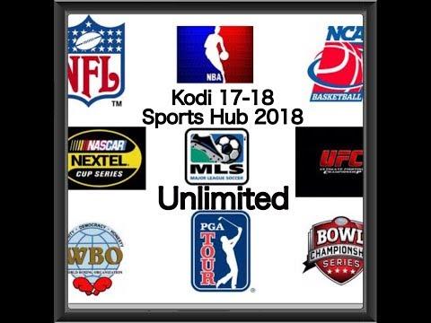 2018 Unlimited Sports Kodi 17.6