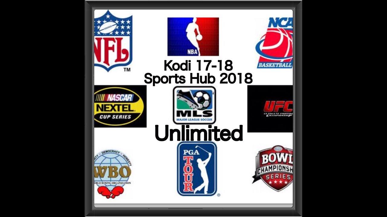 2018 Unlimited Sports Kodi 17 6