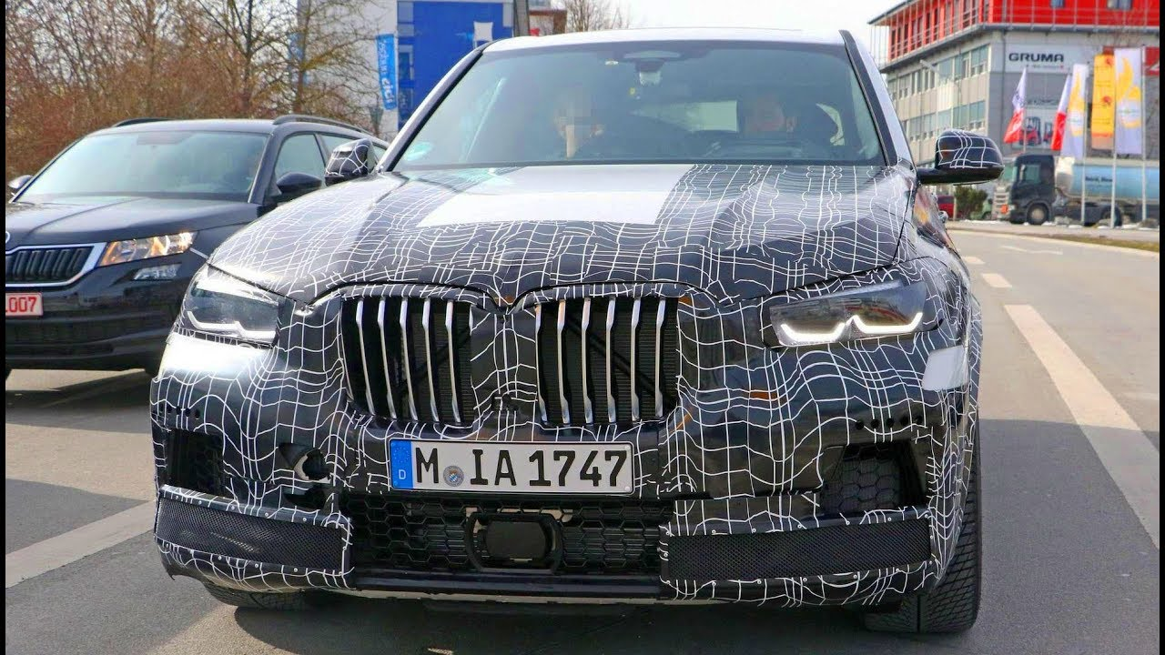 2020 Bmw X5 M Shows The Mive Kidney Grilles