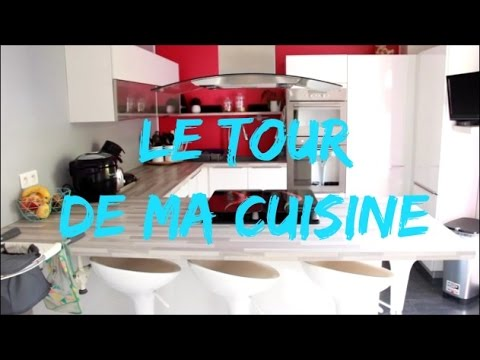 le tour de ma cuisine kitchen tour organisation youtube. Black Bedroom Furniture Sets. Home Design Ideas