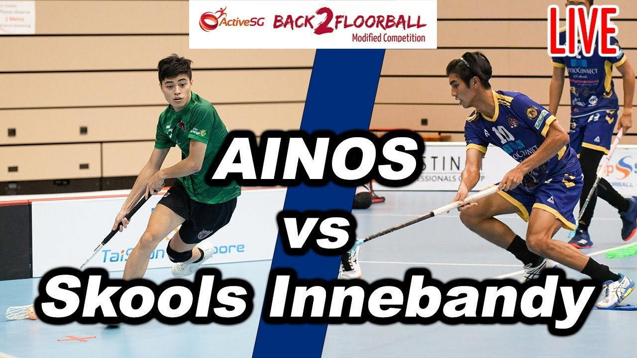 Download AINOS vs Skools Innebandy | 3 April 2021 | LIVE