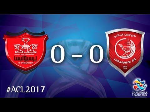 Persepolis FC vs Lekhwiya SC (AFC Champions League 2017 : Round of 16 - 1st Leg)