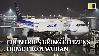 UK, US and other countries bring citizens home from China coronavirus epicentre Wuhan