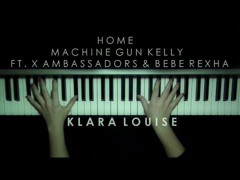 HOME   Machine Gun Kelly ft. X Ambassadors & Bebe Rexha Piano Cover