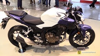 2019 Honda CB500F - Walkaround - Debut at 2018 EICMA Milan