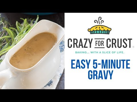 Easy 5-Minute Gravy Recipe - for any meat!