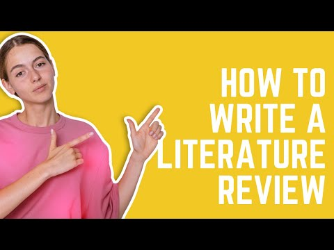 How To Write A Literature Review [The Most Easy Way]