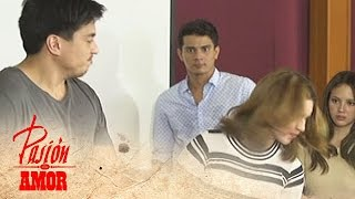 Pasion De Amor: Gabriel slaps Jamie