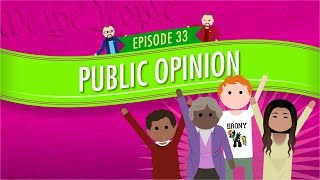 Public Opinion: Crash Course Government And Politics #33