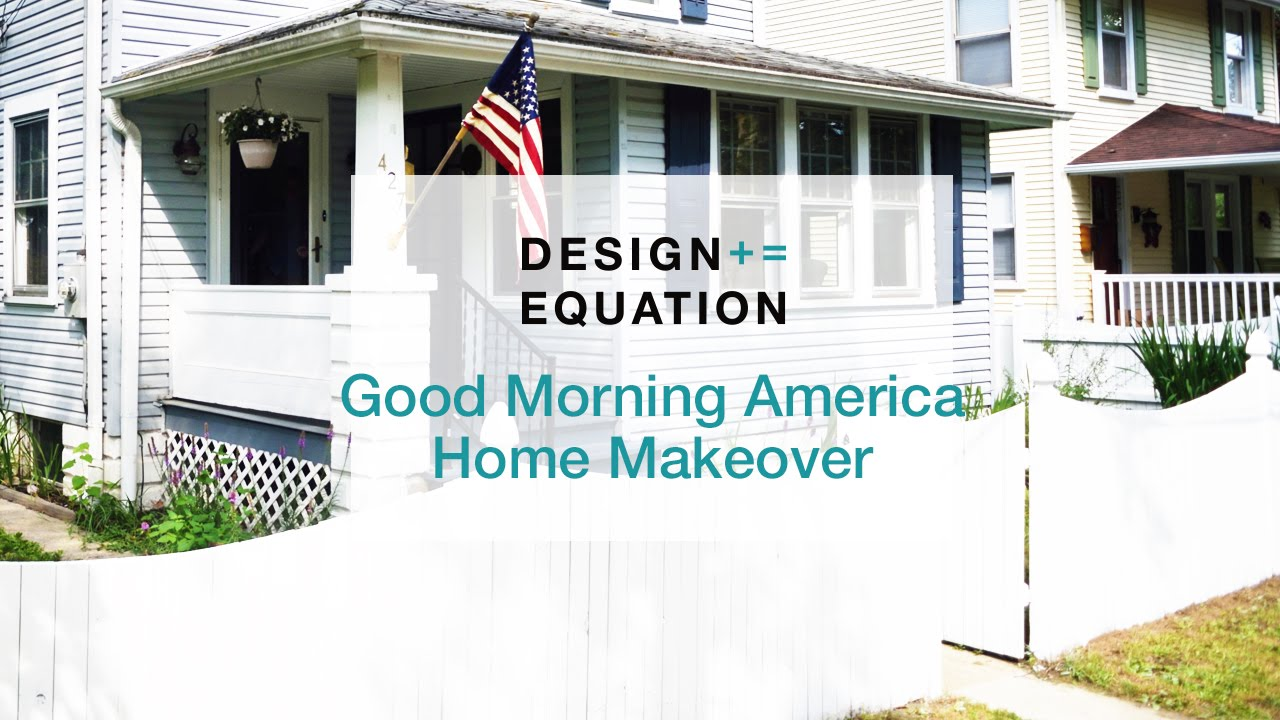 American Home Makeover good morning america home makeover