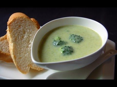 Broccoli Soup   Chef Raheel   Sanjeev Kapoor Khazana