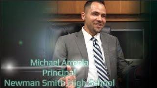 New Principal Newman Smith Michael Arreola