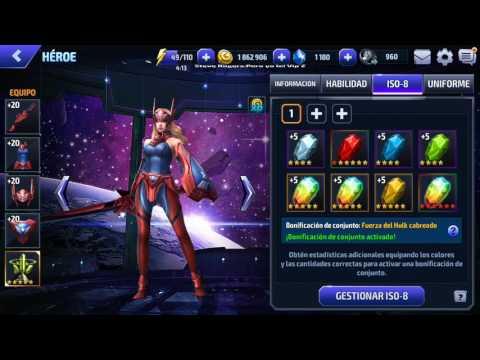 Marvel Future Fight Especial: Equipamiento de Sharon Rogers