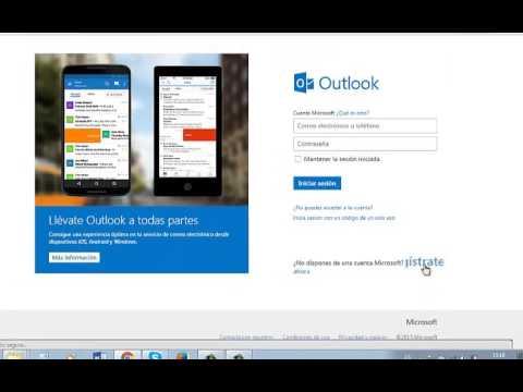 Como crear una cuenta de hotmail