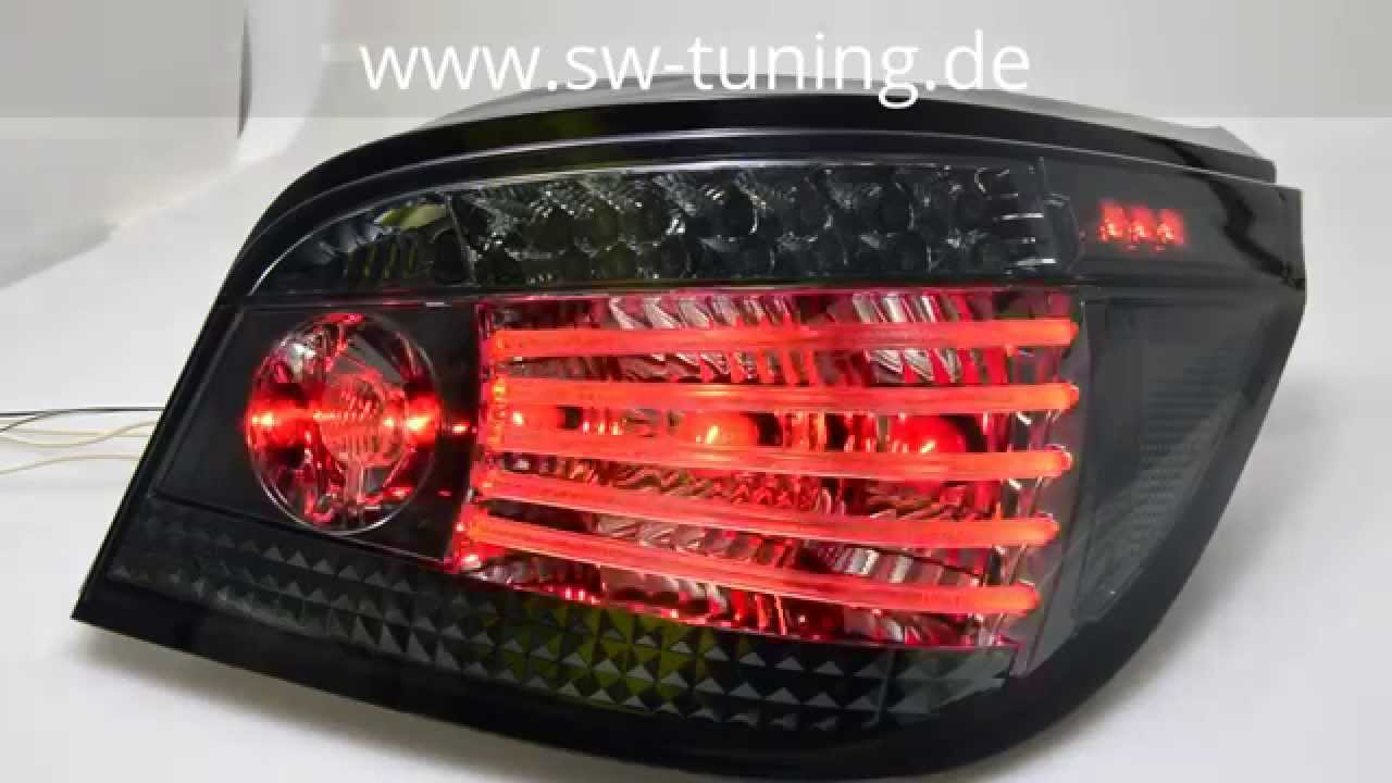 led r ckleuchten 5er bmw e60 vorfacelift smoke sw tuning. Black Bedroom Furniture Sets. Home Design Ideas