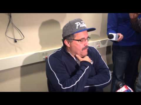 Stan Van Gundy reacts to Stanley Johnson's controversial LeBron comments