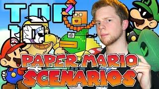 Top 10 Paper Mario Scenarios - Nitro Rad