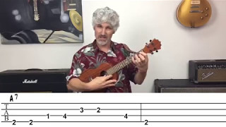 Beatles Birthday Ukulele Lesson (with TAB)