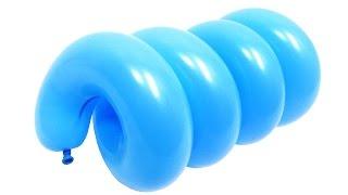 Спираль №2 из воздушных шаров(Жесткая спираль из двух воздушных шаров (ШДМ 260 + ШДМ 160). Диаметр трубки 26 мм. Спиральная форма надутых шаров..., 2015-12-10T19:33:03.000Z)