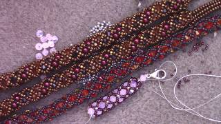 Learn the Basics of the Crystal Netted Rope Stitch - A Beginner Beading Tutorial by Aura Crystals