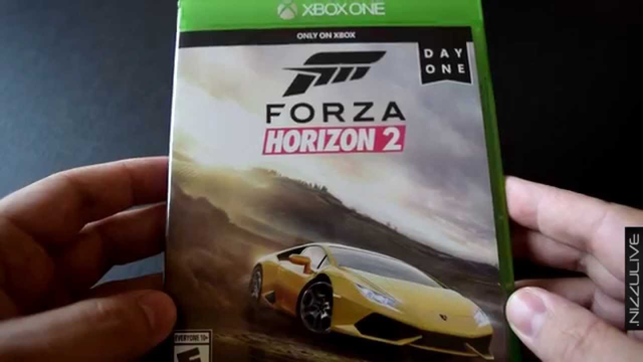 forza horizon 2 xbox one day one edition unbox youtube. Black Bedroom Furniture Sets. Home Design Ideas