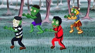 El Baile de los Zombies - Canciones de Halloween para Niños - Super Divertido