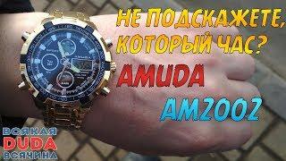 ⌚ Годинник як у фізрука?! Годинник AMUDA AM2002. Luxury Watches Men Механічні наручні годинники з Китаю