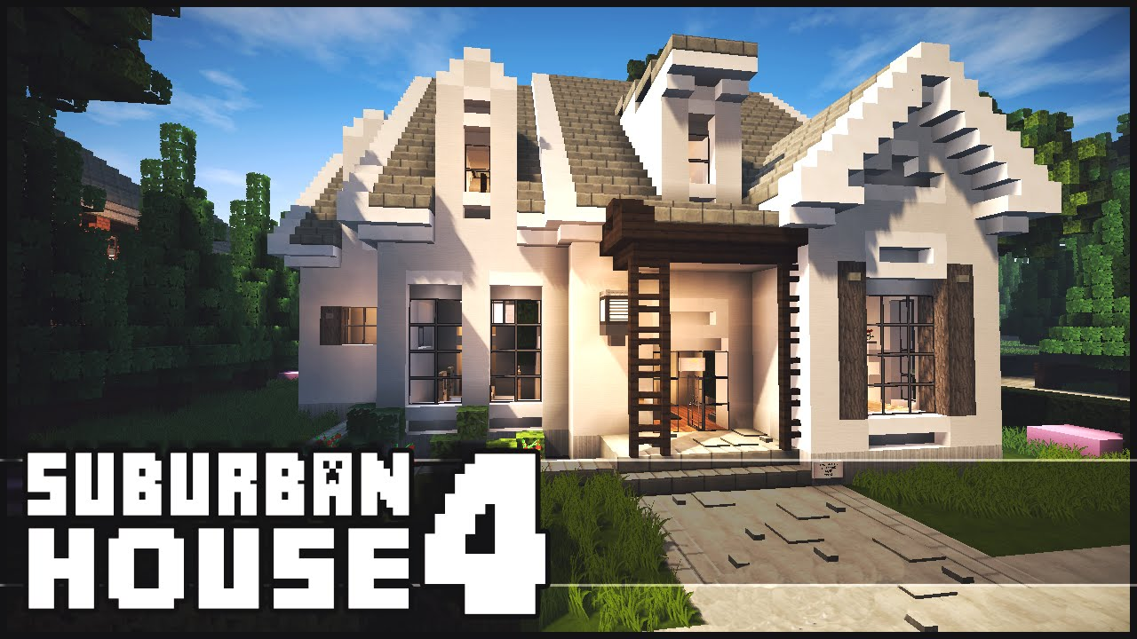 Minecraft Suburban House 4 YouTube