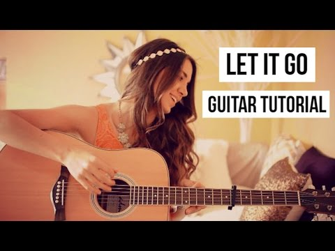 LET IT GO - JAMES BAY GUITAR TUTORIAL // Easy Beginner Lesson