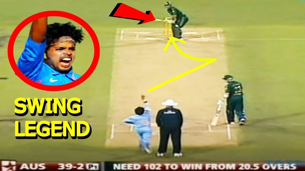 श्रीसंत की 10 ऐसी गेंदे जिनसे उन्होंने विकेट तोड़ डाला//Top 10 wonderful deliveries By Shreesanth