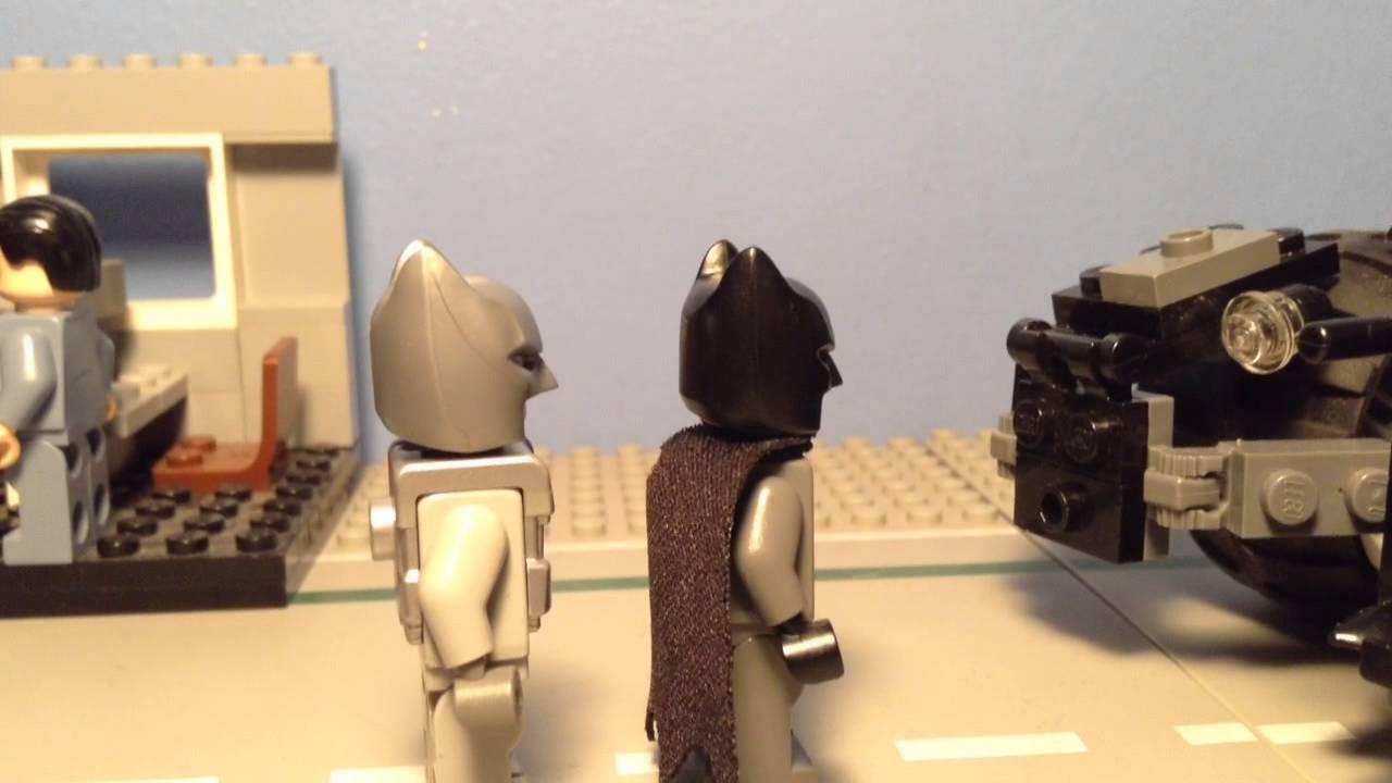 LEGO Batman Armored Batsuit Batmobile