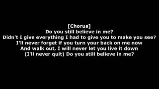 Eminem-believe (lyrics)