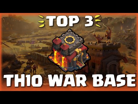 TOP 3 BEST TH10 WAR BASE 2020! (CWL) Anti 2 Star Town Hall 10 War Bases W/Link  | Clash Of Clans