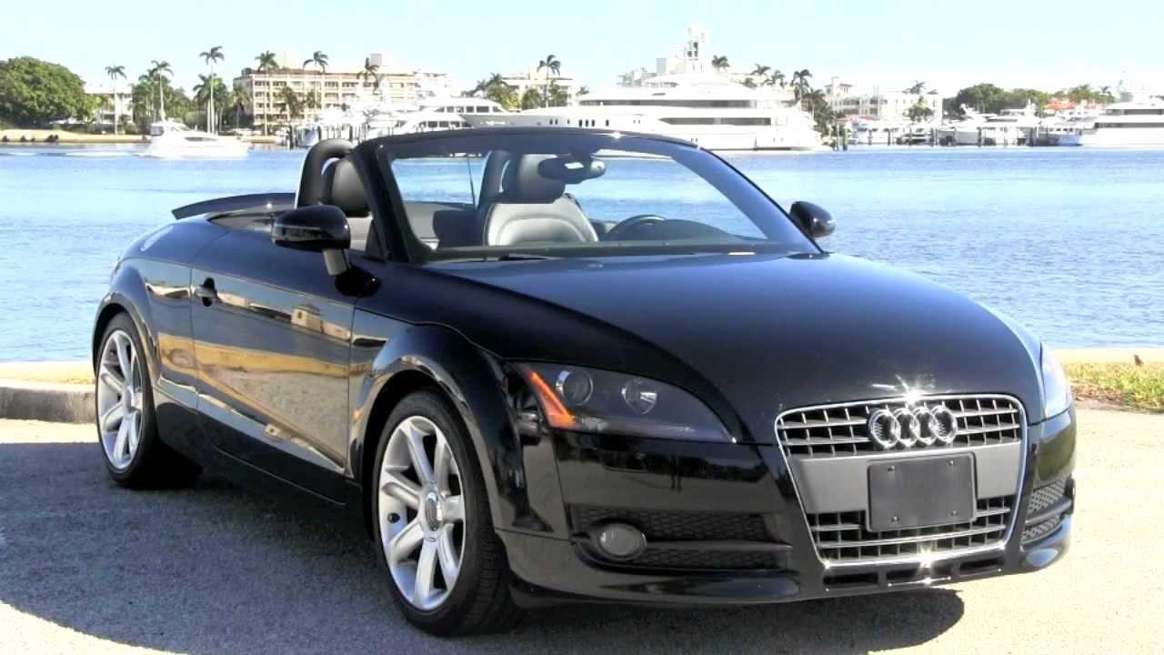 Audi TT Convertible Brilliant Black Autos Of Palm Beach A - Used audi tt convertible