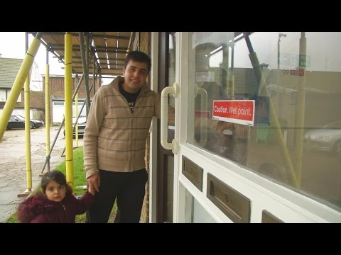 Video: Afghan refugee Haris begins new life in London