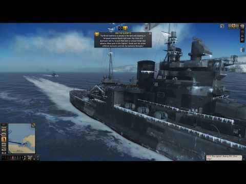 Silent Hunter 5: Sinking The HMS Warspite Battleship