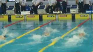Worldcup swimming in TOKYO 2012 Men's 50m Freestyle(Anthony Ervin)