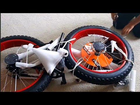 Mongoose Dolomite 26 Men S Fat Tire Bike Unboxing