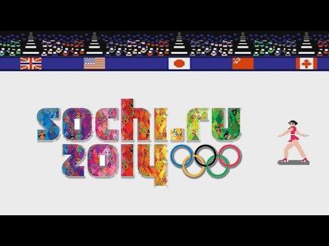 Зимние Олимпийские Игры в Сочи 8-bit  (Денди) / Winter Olympic Games Sochi 2014 (NES)