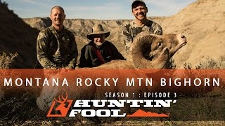 Huntin' Fool TV Season 01 Episode 03 - Montana Rocky Mountain Sheep