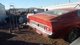 Rare cars at a wrecking yard in Phoenix Az